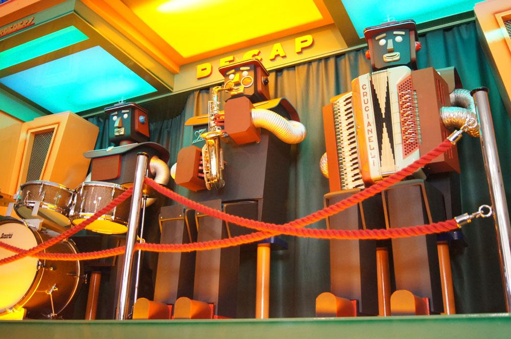 Three robots - A C Pilmer