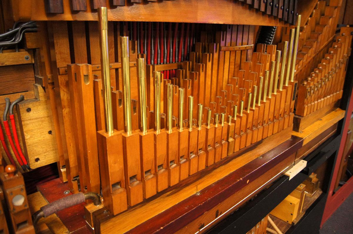 101 key Mortier organ - AC Pilmer