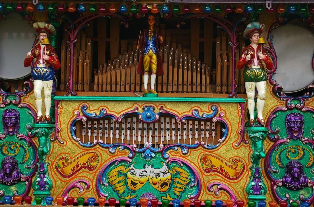 52 key Verbeeck organ - AC Pilmer
