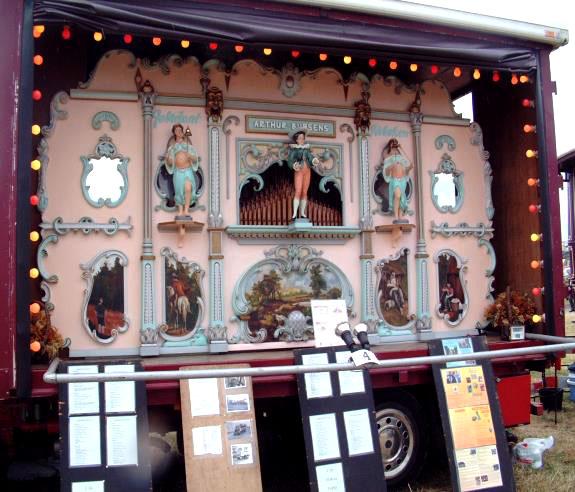 52 key Arthur Bursens street organ - AC Pilmer