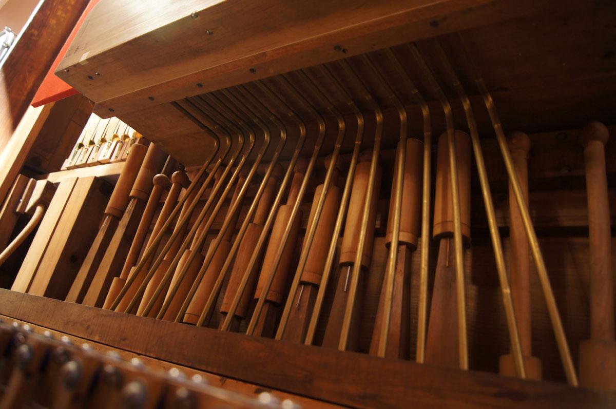 Glockenspiel unit 57 key Gavioli organ - AC Pilmer