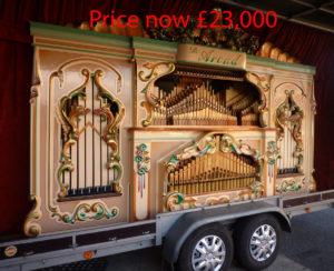 Organ now £23,000