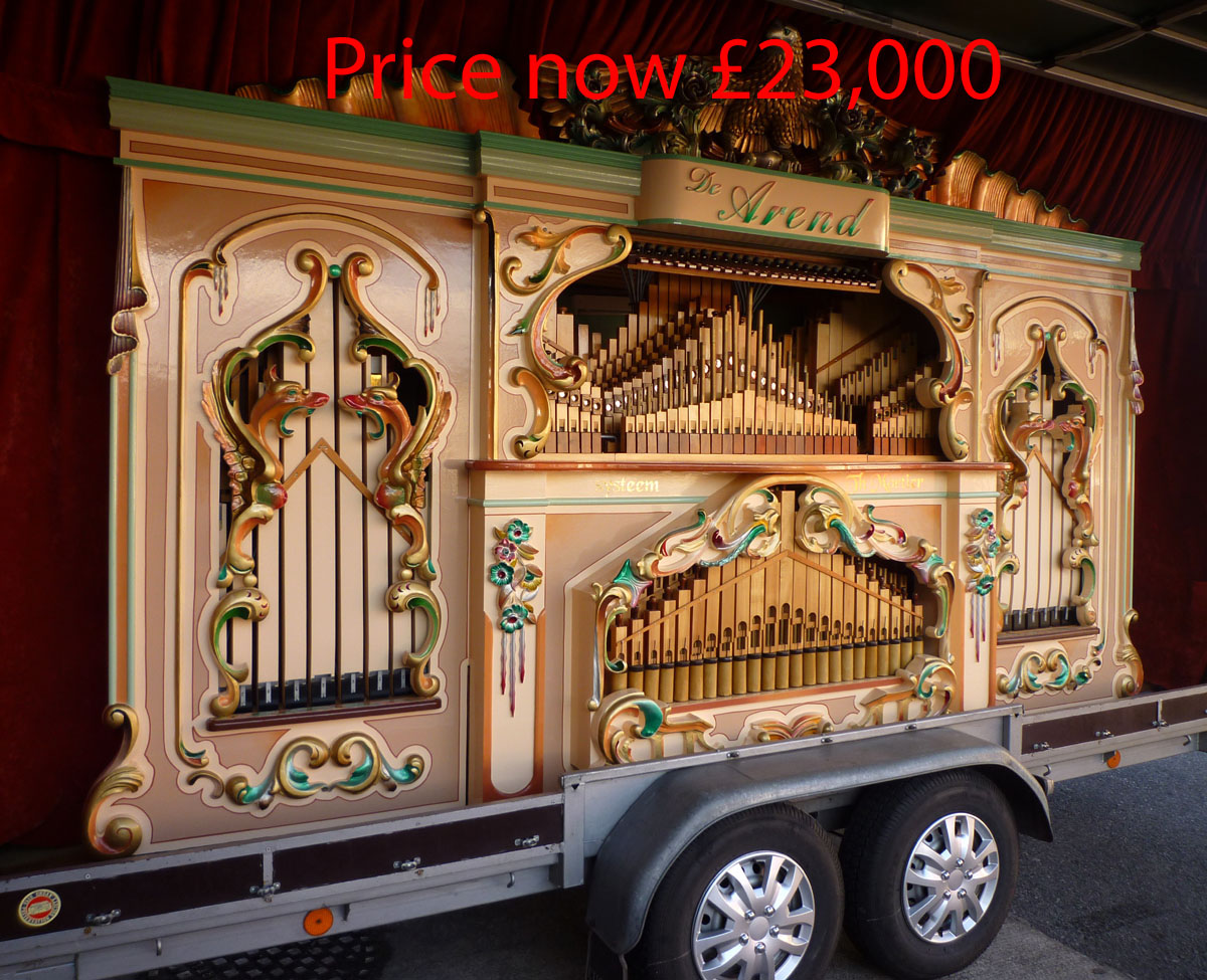 101 key organ now £23,000