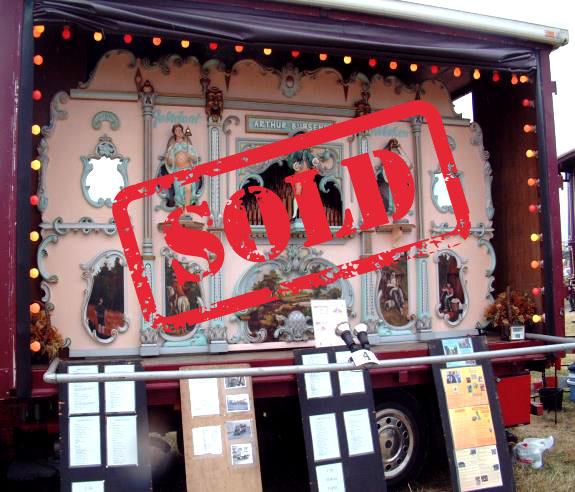 52 key Arthur Bursens street organ Sold